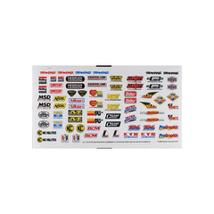 TRA2514 - SPONSOR DECAL SHEET-Traxxas-CKRC Hobbies