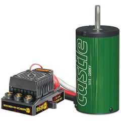 CSE010-0139-00 - Castle Creations 1:8 Sidewinder 8th ESC + 2200kV Motor-Castle Creations-CKRC Hobbies