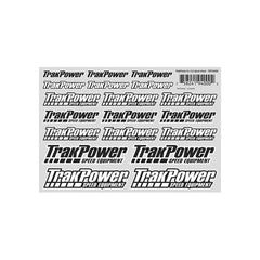 "TKPZ4000 - TrakPower Decal Sheet 8X5.5""-TrakPower-CKRC Hobbies"