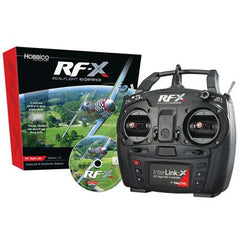 GPMZ4540 - Great Planes Realflight RF-X with Interlink-X-Great Planes-CKRC Hobbies