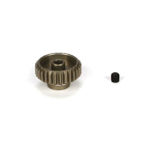 TLR332028 - Team Losi Racing Pinion Gear 28T, 48P, Aluminum