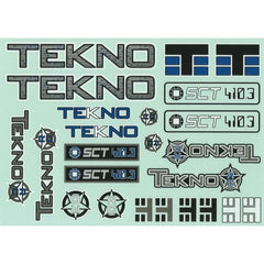 TKRC5548 - TEKNO DECAL SHEET SCT410.3-Tekno-CKRC Hobbies
