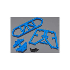 RPM80125 - RPM Rear Bumper Blue Slash 4X4-RPM-CKRC Hobbies