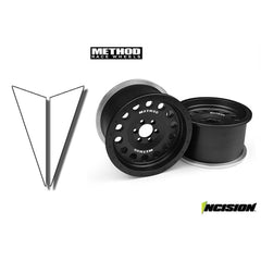IRC00090 - Incision Method 1.9 MR307 Black-Vanquish-CKRC Hobbies