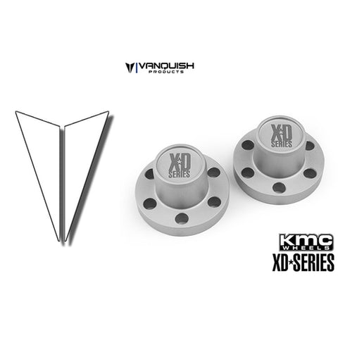 VPS07721 - Vanquish Center Hubs XD Series Clear Anodized
