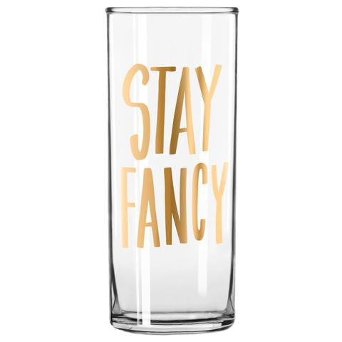Easy Tiger Stay Fancy Cocktail Glass