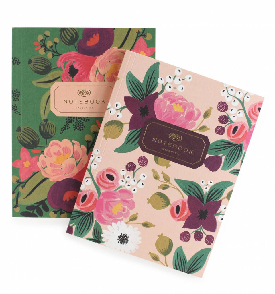 Rifle Paper Co Vintage Blossoms Notebook Set