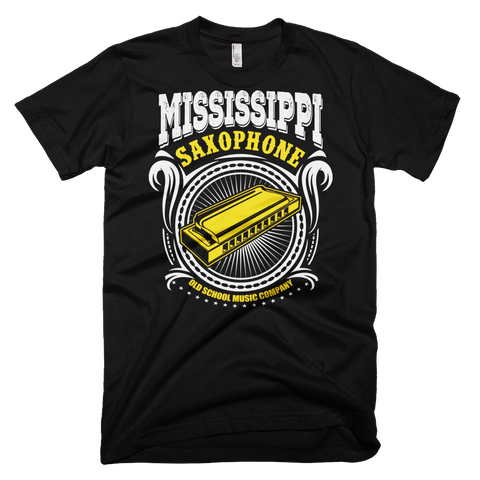 Mississippi Saxophone Graphic T-Shirt