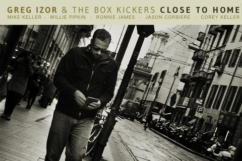Close To Home CD - Greg Izor