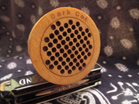 Dark Cat Wood Bullet Microphone