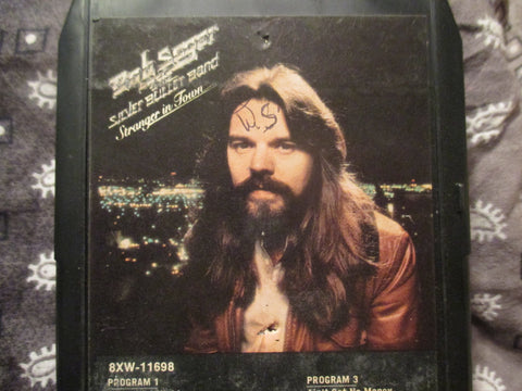 Stranger In Town - 8 Track by Bob Seger and The Silver Bullet Band