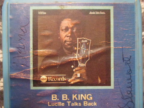 Lucille Talks Back - 8 Track by B. B. King