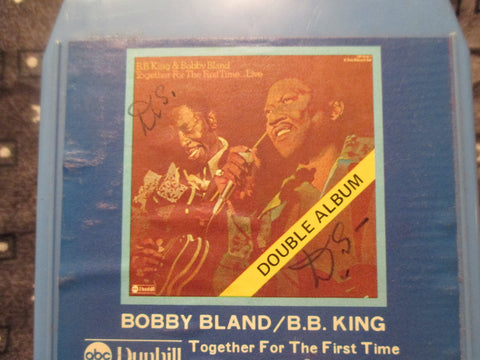 Together For The First Time (Double Album) - 8 Track by Bobby Bland/B. B. King