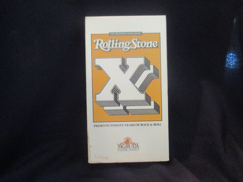 Rolling Stone XX (20) VHS