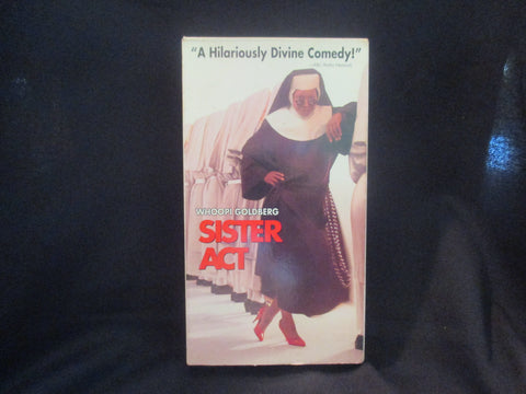 Sister Act VHS - Whoopi Goldberg