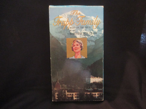 The Trapp Family VHS - Baroness Von Trapp