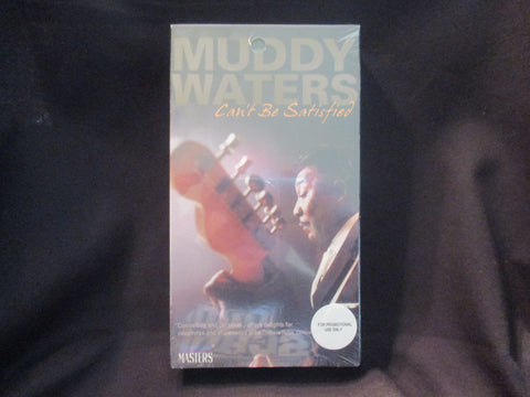 Can't Be Satisfied VHS - Muddy Waters
