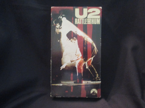 Rattle and Hum VHS - U2