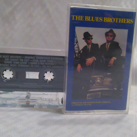 The Blues Brothers Soundtrack Cassette Tape