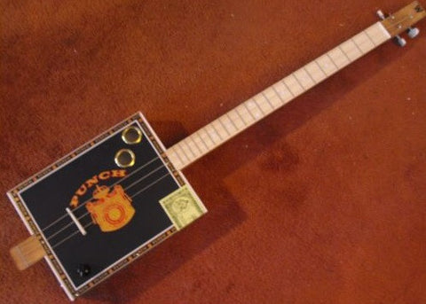 Weeklyhouse Punch Cigar Box Guitar