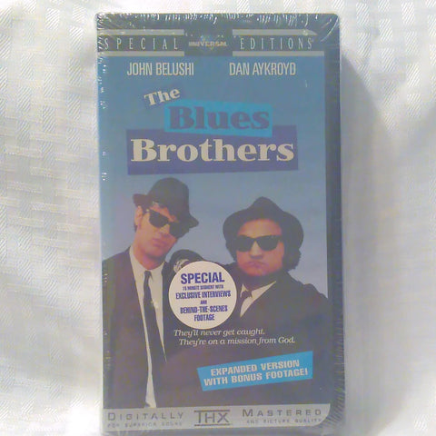 Blues Brothers VHS Tape