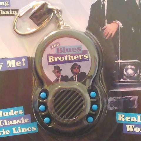 Blues Brothers Talking Keychain