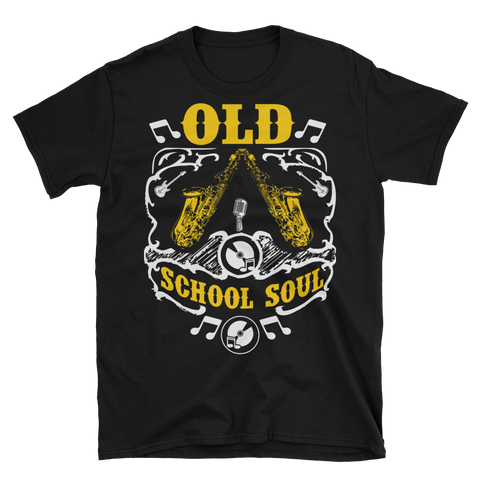 Old School Soul Saxophone T-Shirt