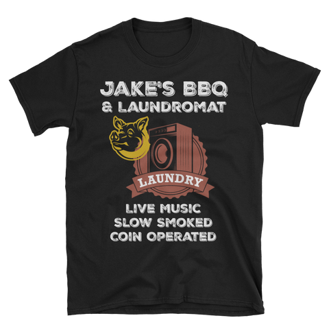 Jake's BBQ & Laundromat T-Shirt