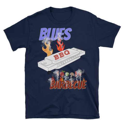 Blues, Barbecue, and Harmonica T-Shirt