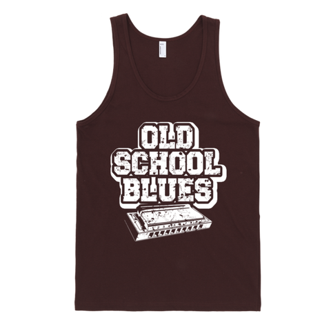 Old School Blues Harp Classic Tank Top Shirt