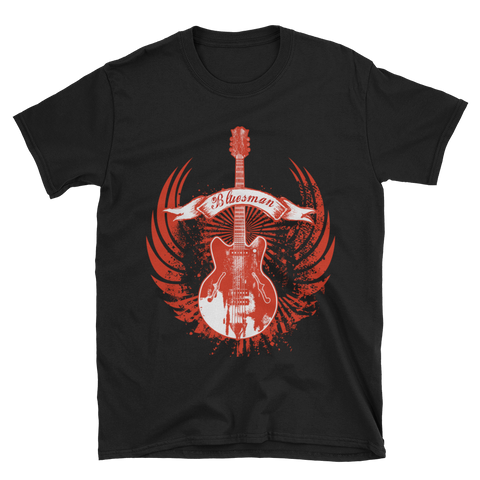 Bluesman Guitar T-Shirt