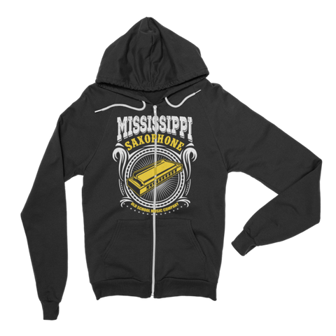 Mississippi Saxophone Hoodie sweater