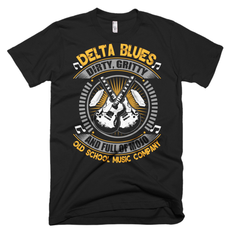 Delta Blues Full Of Mojo Men's t-shirt