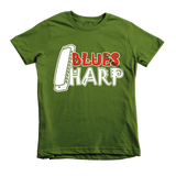 Blues Harp Short Sleeve Children's T-Shirt
