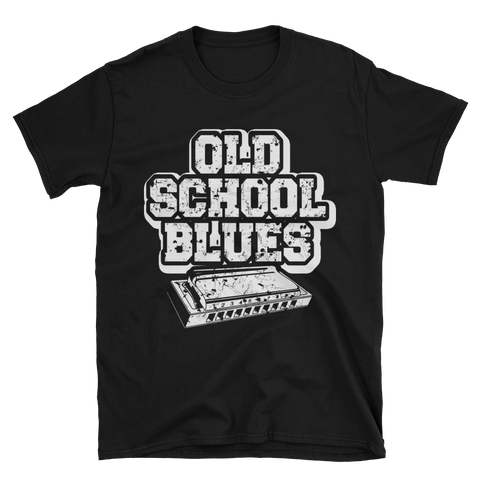 Old School Blues Harmonica T-Shirt