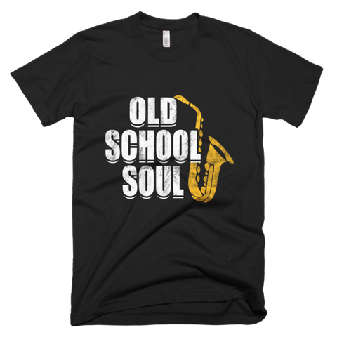 Saxophone Old School Soul Men's t-shirt