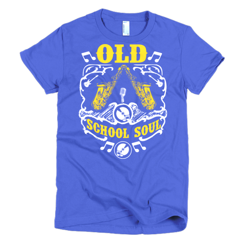 Old School Soul Short Sleeve Women's T-Shirt