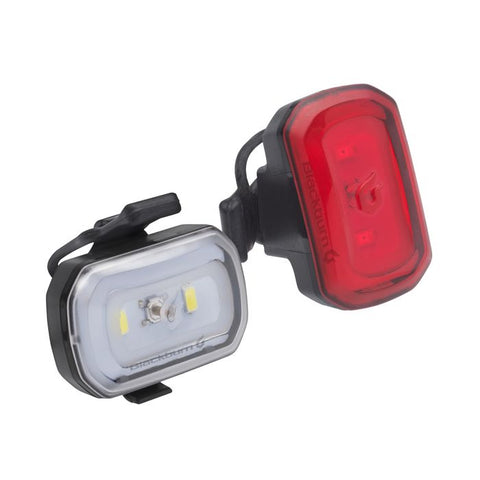 Blackburn paire de lumières CLICK USB Front and Rear Light Set