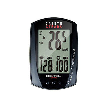 Cateye Strada Digital wireless computer, speed, cadence, heart-rate
