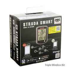 Cateye Strada Smart computer, speed, cadence, heartrate - CC-RD500B