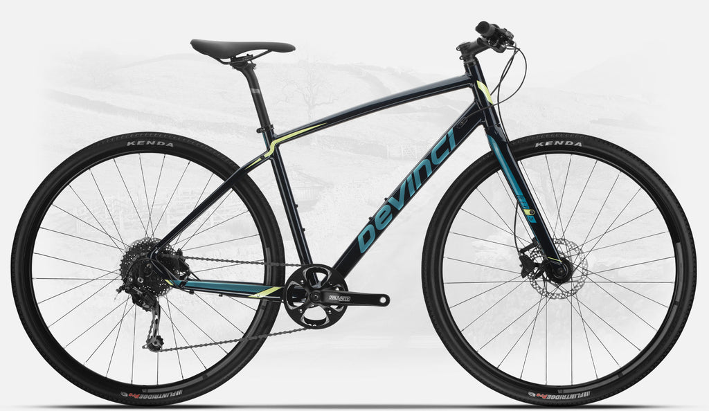 Devinci Hex Deore, gravel specification