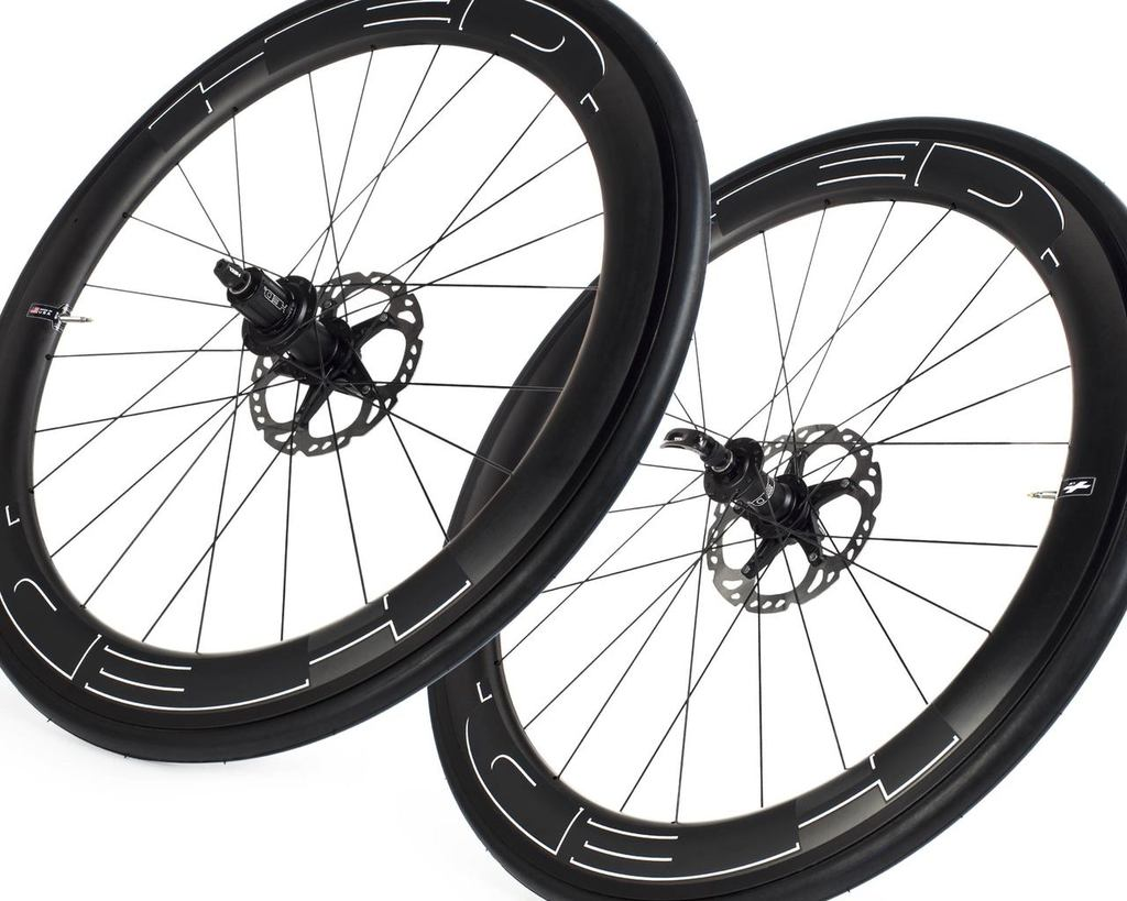 HED Jet 6 disc brake, Shimano 11 speed wheelset