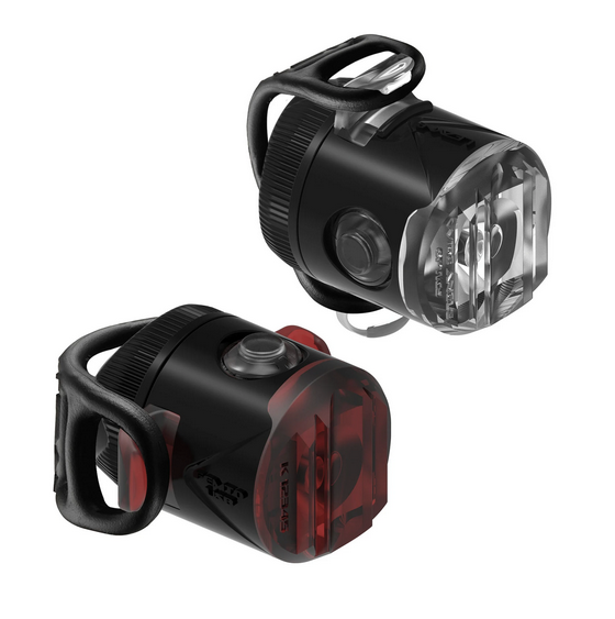 Lezyne LED Femto USB Light, PAIR, black