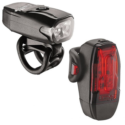 Lezyne LED KTV USB Lights, PAIR, black