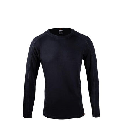 Point6 - Men's Base Layer, Long Sleeve, Mid Crew Neck Top