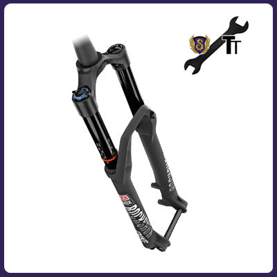 Service - Suspension Fork Lower Leg + Air Sleeve Service