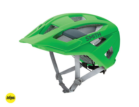 Smith Rover helmet with MIPS - Matte Reactor (green)