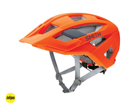 Smith Rover helmet with MIPS - Neon Orange
