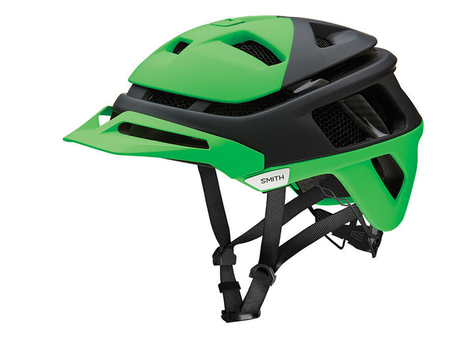 Smith Forefront helmet - Matte Reactor Split (green)