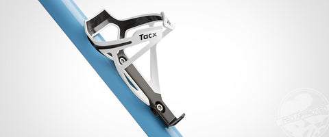 Tacx Deva, Bottle cage, White